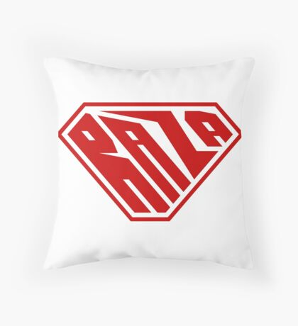 Raza SuperEmpowered (Red) Throw Pillow
