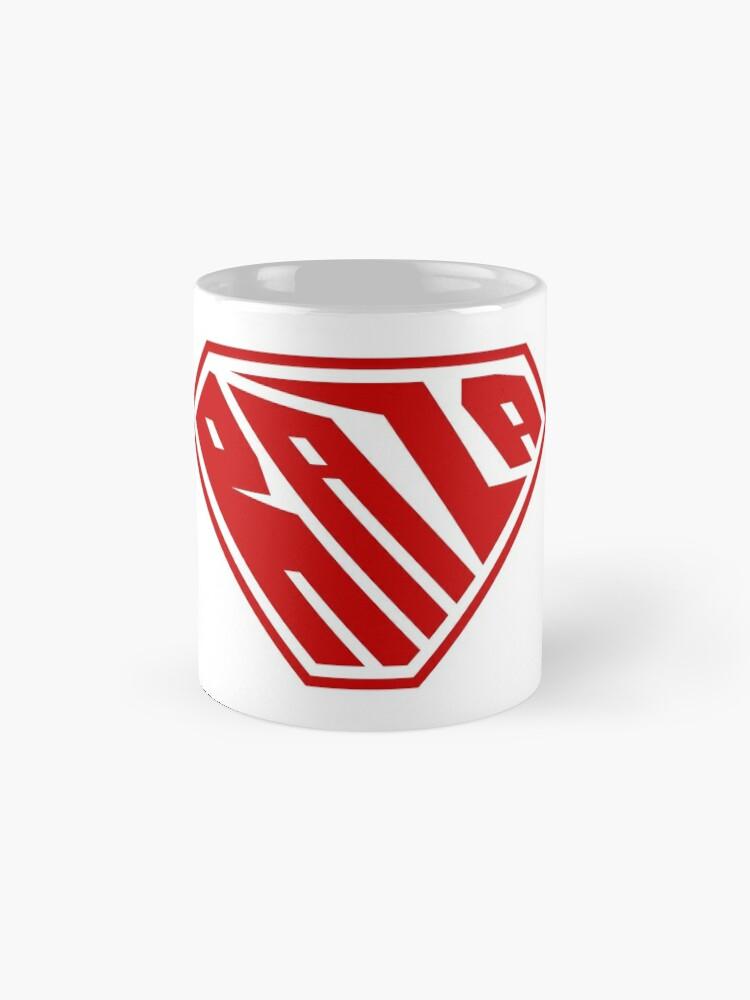Alternate view of Raza SuperEmpowered (Red) Classic Mug