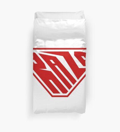 Raza SuperEmpowered (Red) Duvet Cover