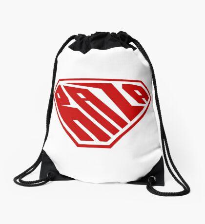 Raza SuperEmpowered (Red) Drawstring Bag