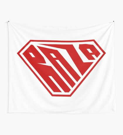 Raza SuperEmpowered (Red) Wall Tapestry