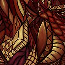 Warm Abstract by Faedriel