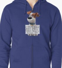 The secret life of pets Max Zipped Hoodie