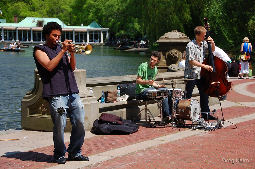 Jazz in the park by Greg Nairn