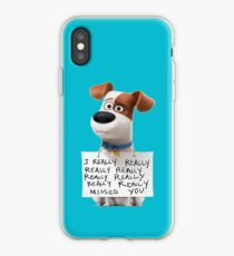 The secret life of pets Max iPhone Case