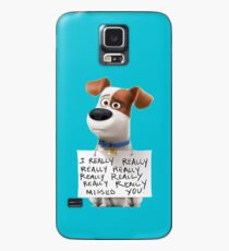 The secret life of pets Max Case/Skin for Samsung Galaxy