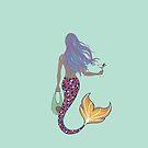 Martini Mermaid by SaylorDoone