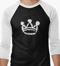 Sketch Crown Art Men's Baseball ¾ T-Shirt