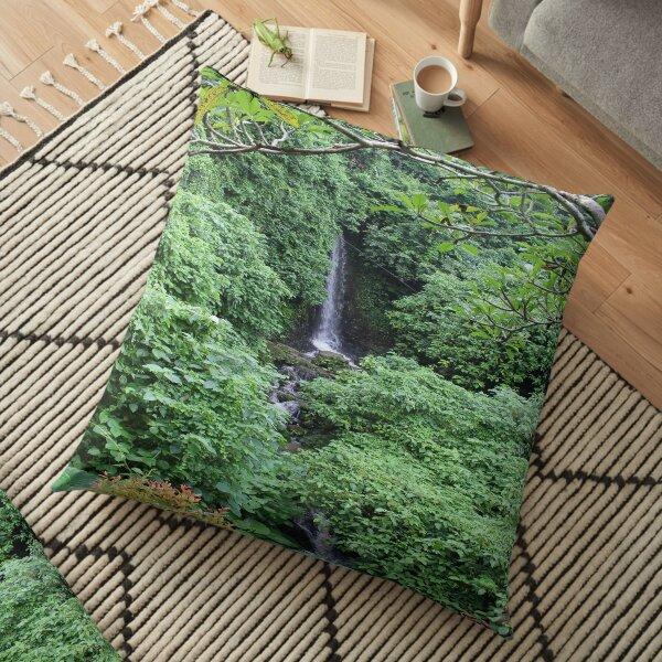 Waterfall Photography Floor Pillow