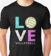 Awesome Girls & Womens Volleyball Gift They LOVE Volleyball Unisex T-Shirt