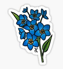 Forget Me Nots Flower Sticker Sticker