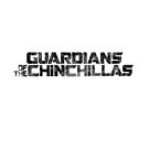 Guardians of the Chinchillas - Black on White by McBethAllen