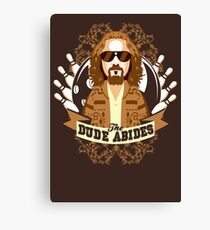 The Dude Abides Canvas Print