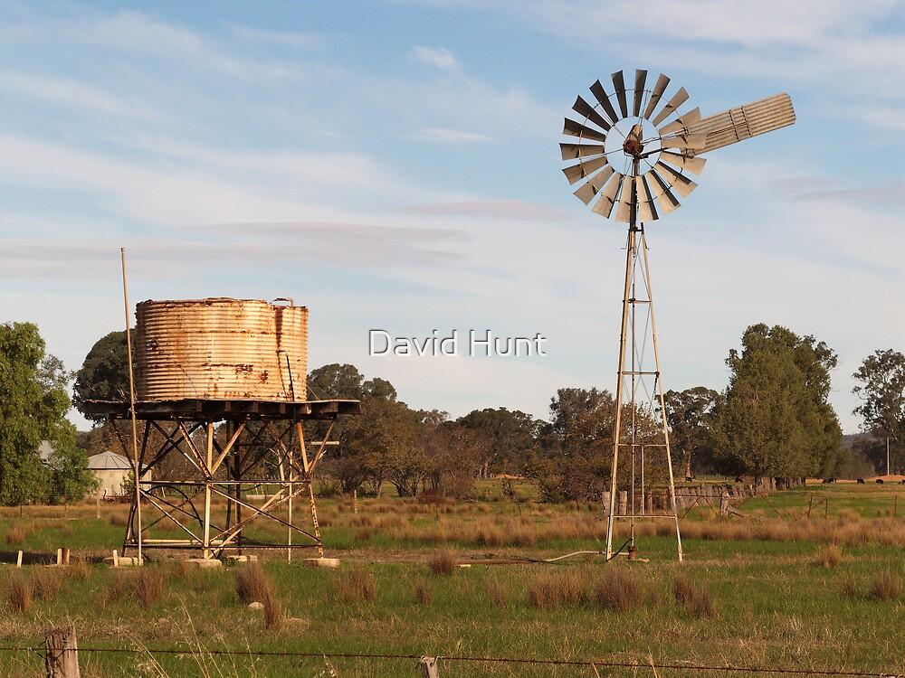 Windmill at Rest by David Hunt