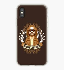 The Dude Abides iPhone Case