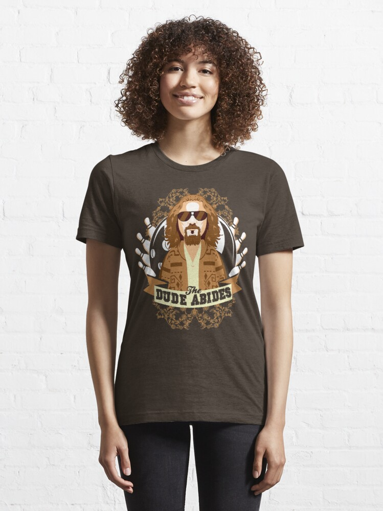 Alternate view of The Dude Abides Essential T-Shirt