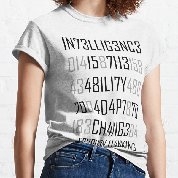 Adapt oder Die Encoded Classic T-Shirt