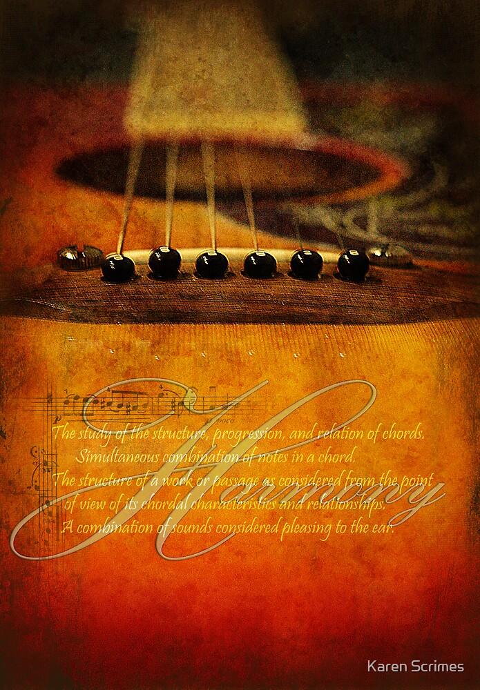 Harmony by Karen Scrimes