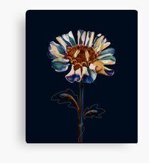 Royal Blue Daisy Canvas Print