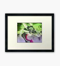 Toxic Queen Framed Print