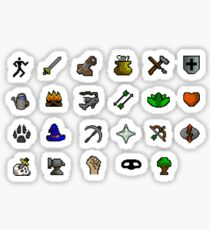 Oldschool Runescape Skill Stickers Sticker