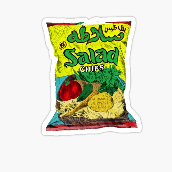 Salad chips Sticker