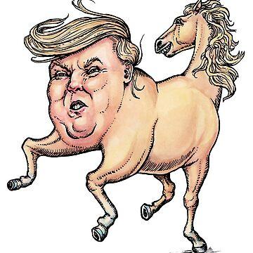 Donald Trump Pony by LisaHaney
