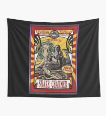 The Snake Charmer (vintage Poster) Wall Tapestry