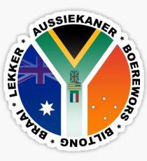 Aussiekaners Sticker