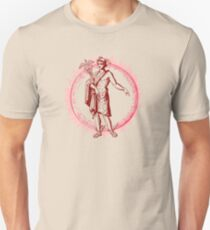 Hermes - Pink/Red Unisex T-Shirt
