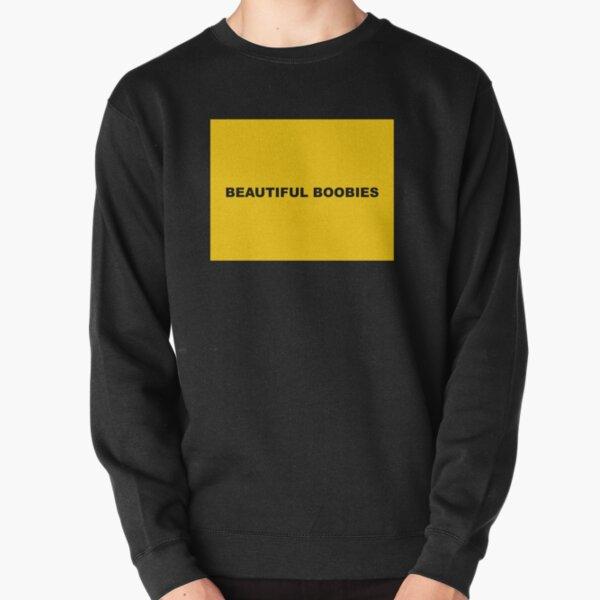 Beautiful Boobies by Post Malone Wow Pullover Sweatshirt