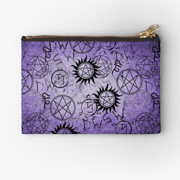 Supernatural Purple Zipper Pouch
