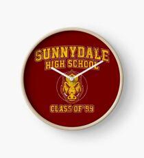 Sunnydale High School Class of '99 Clock