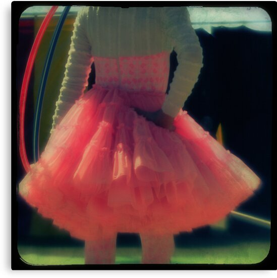 Ttv: Hula Hoops and Pink Ruffles by PeggySue67