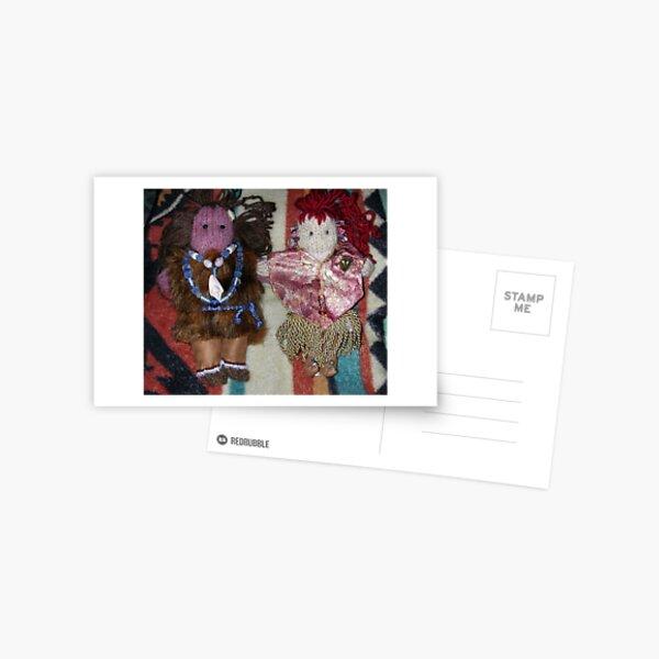 Lord Alaar and Queen Argarac (Prince Zeo's parents) Postcard