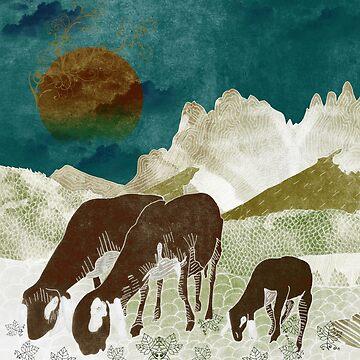 Mountain goats4 by Design4uStudio