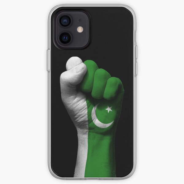 Flag of Pakistan on a Raised Clenched Fist  iPhone Soft Case