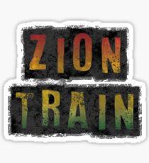 zion train Sticker