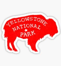 Yellowstone Park  Sticker