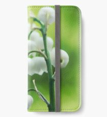Lily Of The Valley - Convallaria Majalis iPhone Wallet/Case/Skin