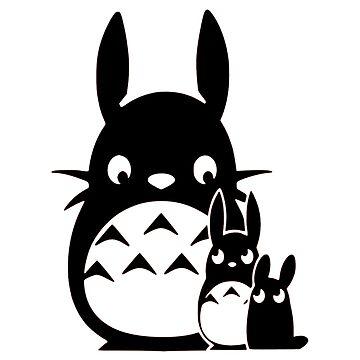 Totoro Kawaii by OtakuPapercraft
