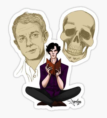 Sherlock & Friends Sticker