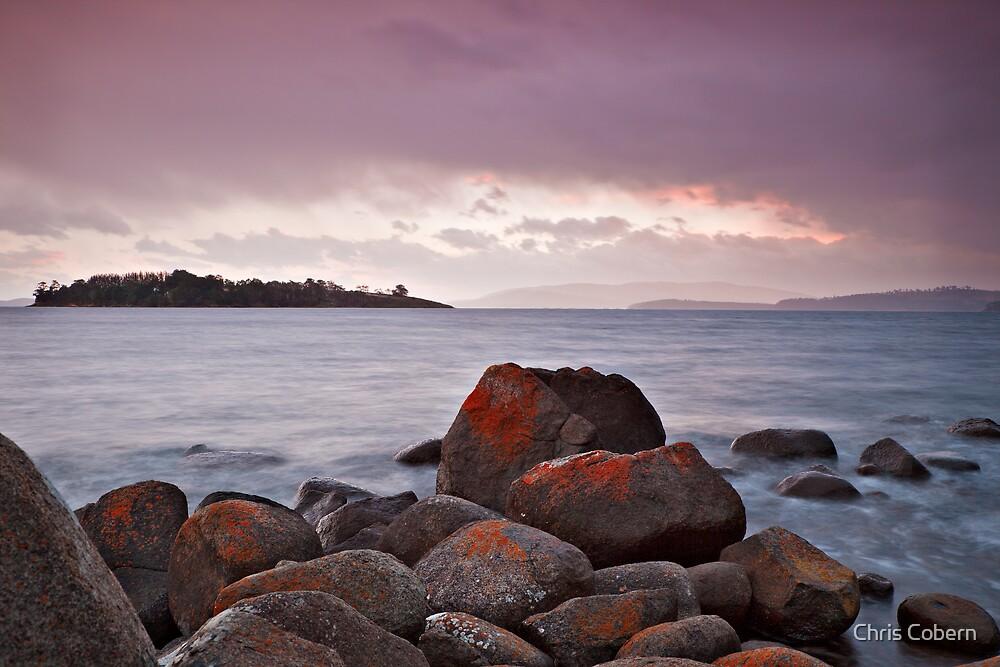 Verona Sands sunset 2 by Chris Cobern
