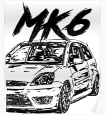Ford Fiesta St Poster Redbubble