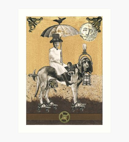 Bartleby the Steam Hound Art Print