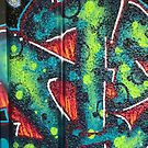 Southbank Skatepark Graffiti #1 by Tracey Hudd