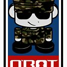 Army Hero'bot 1.1 by Carbon-Fibre Media