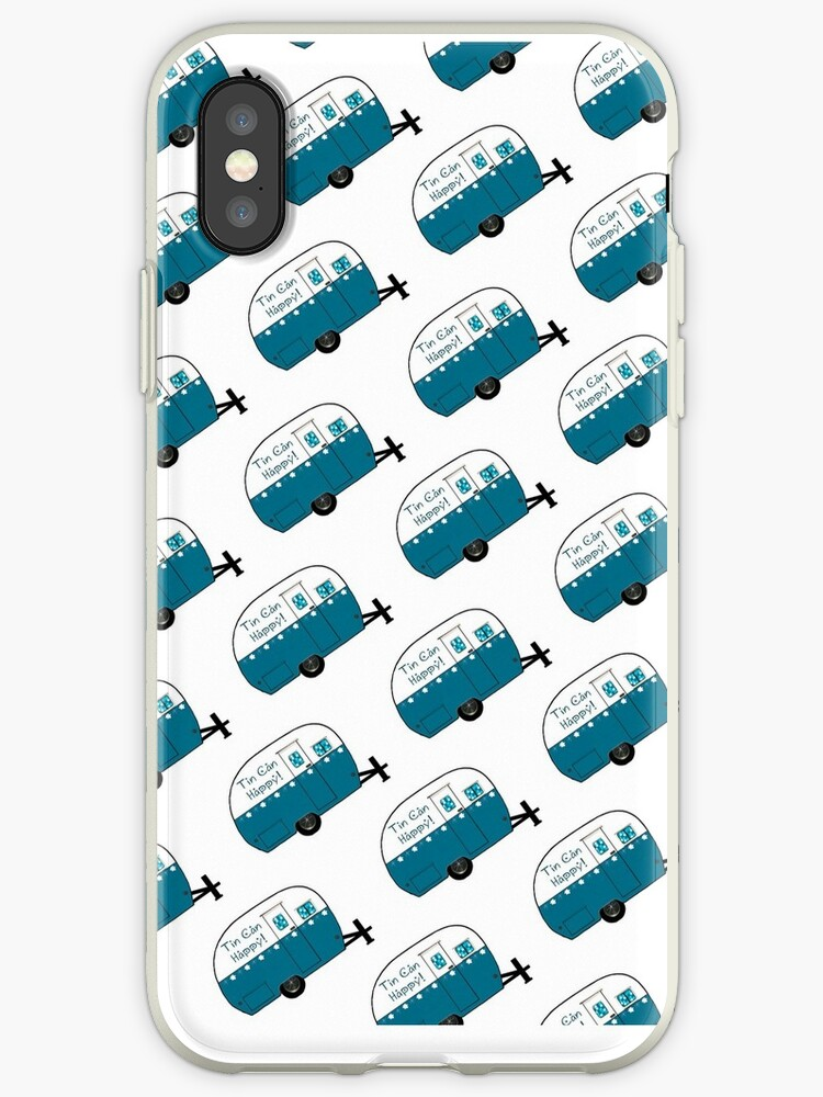 Retro Camper | Tin Can Happy! | Phone Case by Patricia Montgomery