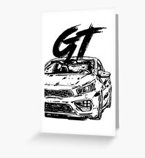Ceed GT & quot; Dirty Style & quot; Greeting Card