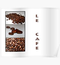 le cafe` Poster